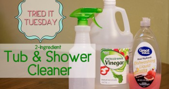 Tried It Tuesday: Tub & Shower Cleaner