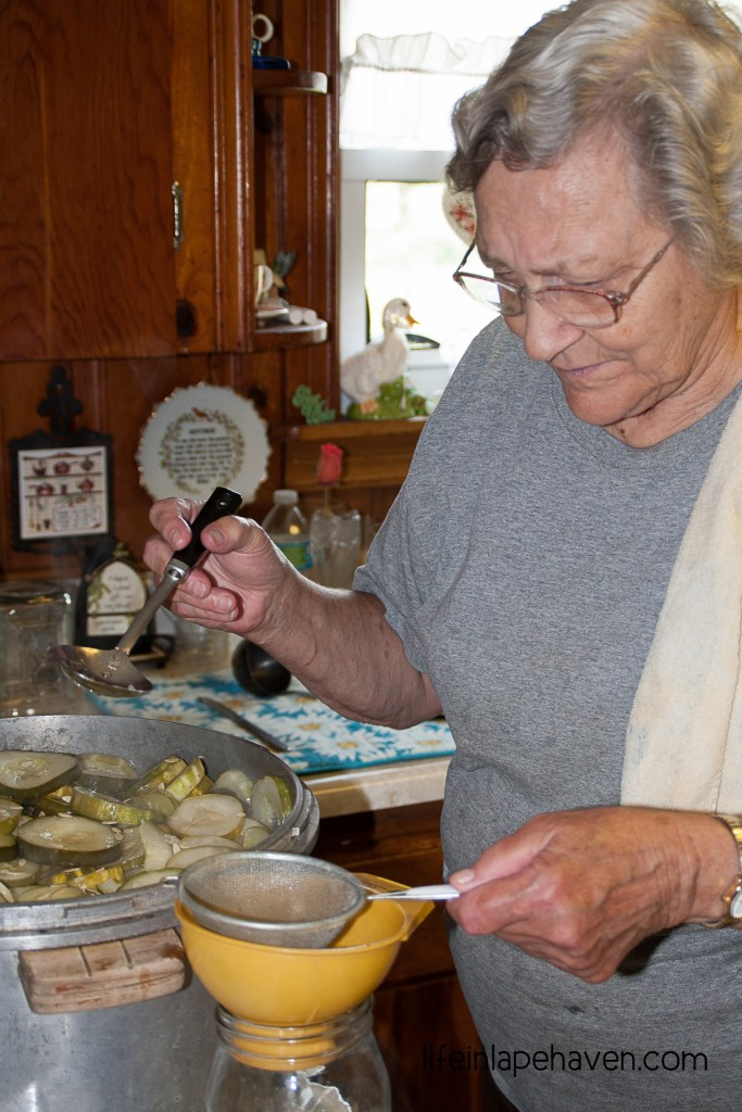 Life in Lape Haven: Making Grandma's Lime Pickles