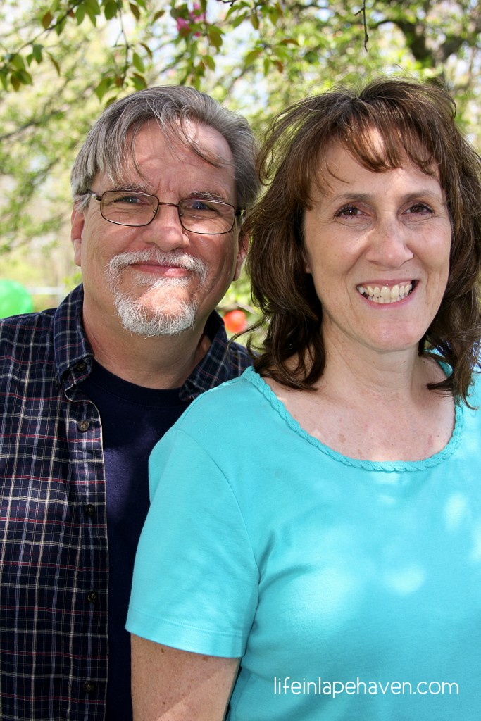 Life in Lape Haven: Better than a Fairy Tale - Jerry and Cindy in 2014.