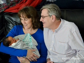 Life in Lape Haven: Better than a Fairy Tale - Mom and Dad with Aiden