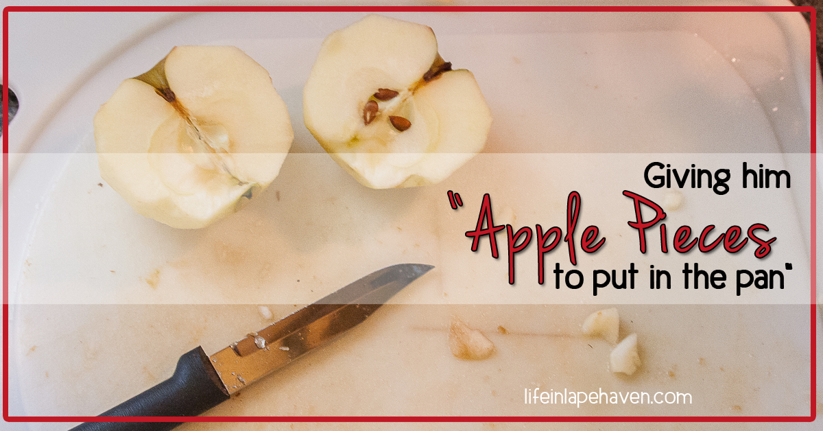 how to put an apple sum