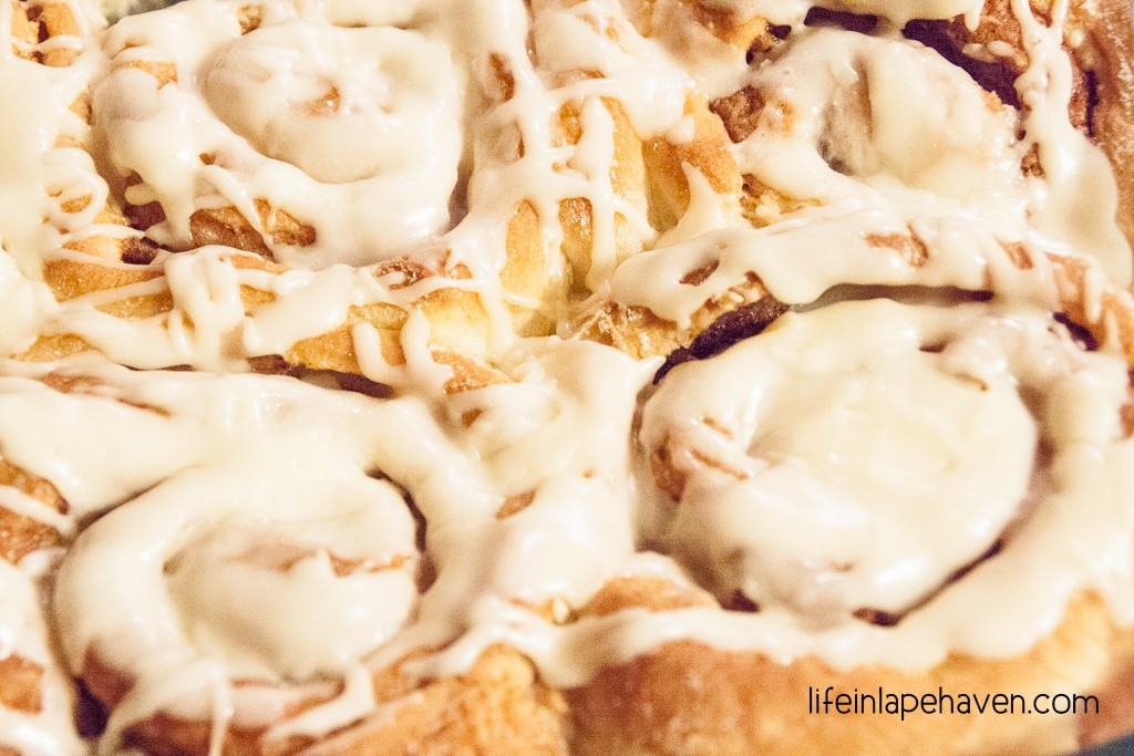 LifeinLapehaven.com: Cinnamon Rolls for a Really Good Day. A rewarding recipe for every day life.