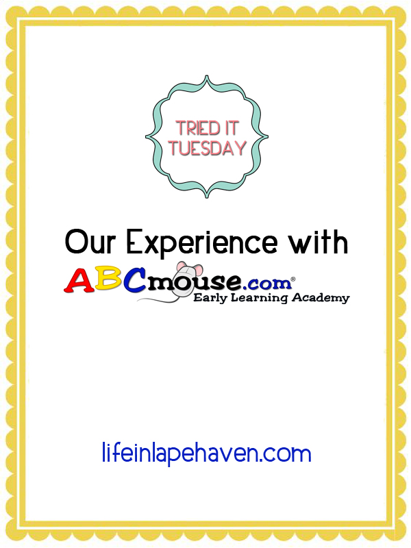 Life in Lape Haven: Tried It Tuesday - Our Experience with ABCMouse.com