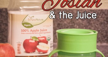 Life in Lape Haven: Write 31 Days - Out of the Mouth of Babes, Josiah and the Juice. How a cup of juice reminded me to not worry, but simply trust God to take care of my needs.