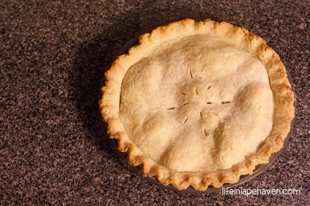Life in Lape Haven: The Legacy in an Apple Pie - A Delicious, Easy Recipe Four Generations in the Making. An apple pie recipe that combines one great-grandma's apple pie filling with another great-grandma's pie crust recipe.