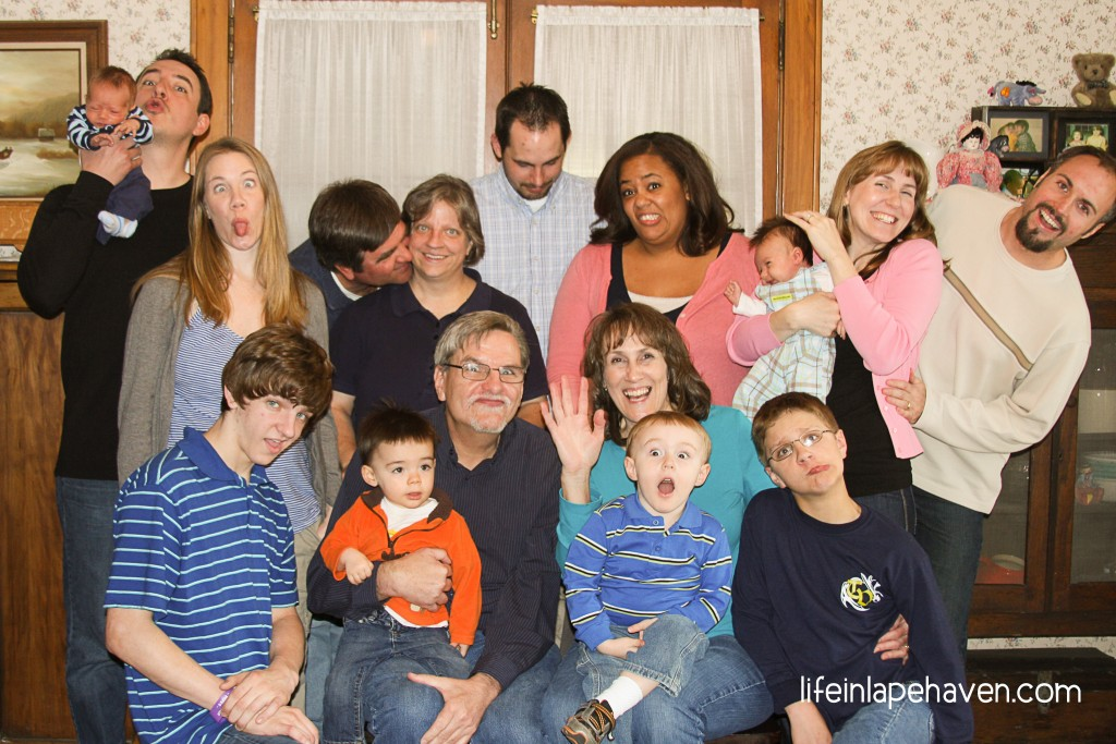Life in Lape Haven: How We Capture a Great Family Picture Every Time - Our One Trick for Always Getting a Great Shot of Our Family