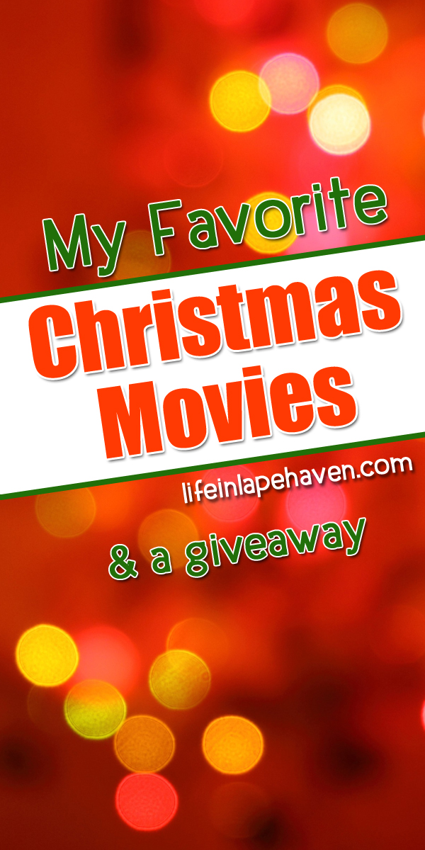 Life in Lape Haven: My Favorite Christmas Movies and a Giveaway - A list of my most favorite holiday films and a chance to win A Shop Around the Corner and Hot Chocolate in my Christmas Giveaway