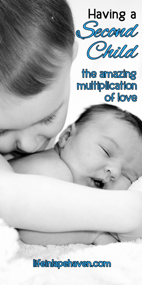 Life in Lape Haven: Having a Second Child - the amazing multiplication of love. When we found out I was pregnant with our second baby, it was just as wonderful and exciting as the first time. But it was different. Were we ready to face life with a newborn again? Could we love this little one the same as our first child?