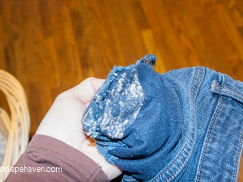 Life in Lape Haven: A Ridiculously Simple Way to Get Silly Putty Out of Fabric. When I ended up with a pocketful of putty from my 2-year-old, I found a very easy solution for getting silly putty out of the fabric.