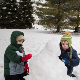 Life in Lape Haven: Choosing the Good Part - Embracing the extra time with my children that comes with a snow day, and remembering that I can choose to be distracted like Martha or I can choose the good part like Mary did. I'll take time with my boys over my to-do list.