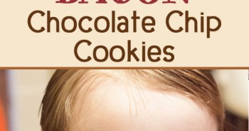 Life in Lape Haven: Tried It Tuesday: Bacon Chocolate Chip Cookies . A tasty but easy tweak to traditional chocolate chip cookies, this recipe is delicious. Bacon and Chocolate Chip Cookies - genius! Homemade cookies with a hint of gourmet.