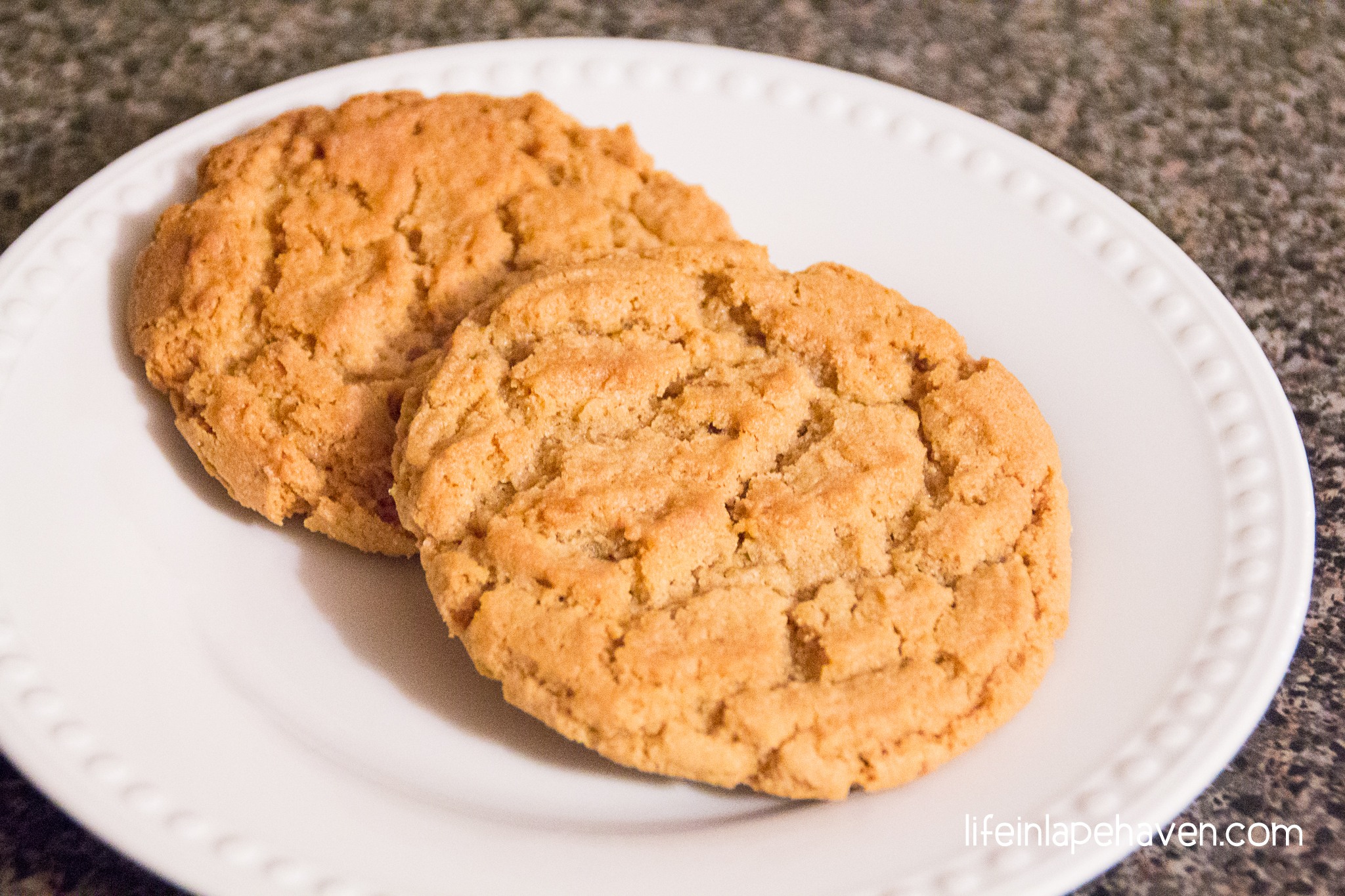 Easy, Chewy Peanut Butter Cookies