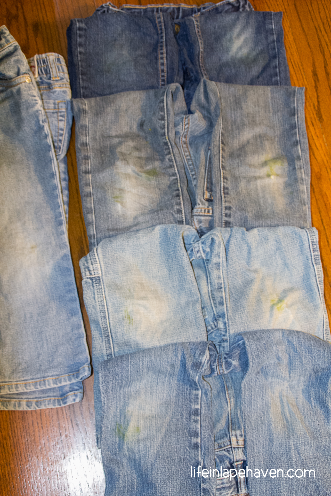 tried it tuesday how to get grass stains out of clothes