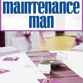 Life in Lape Haven: The Ministry of the Maintenance Man. While it takes a lot of people to make a wedding come together well, one of the most important people at our friends' recent wedding was the seemingly behind the scenes maintenance man who did represented his church and Jesus well.