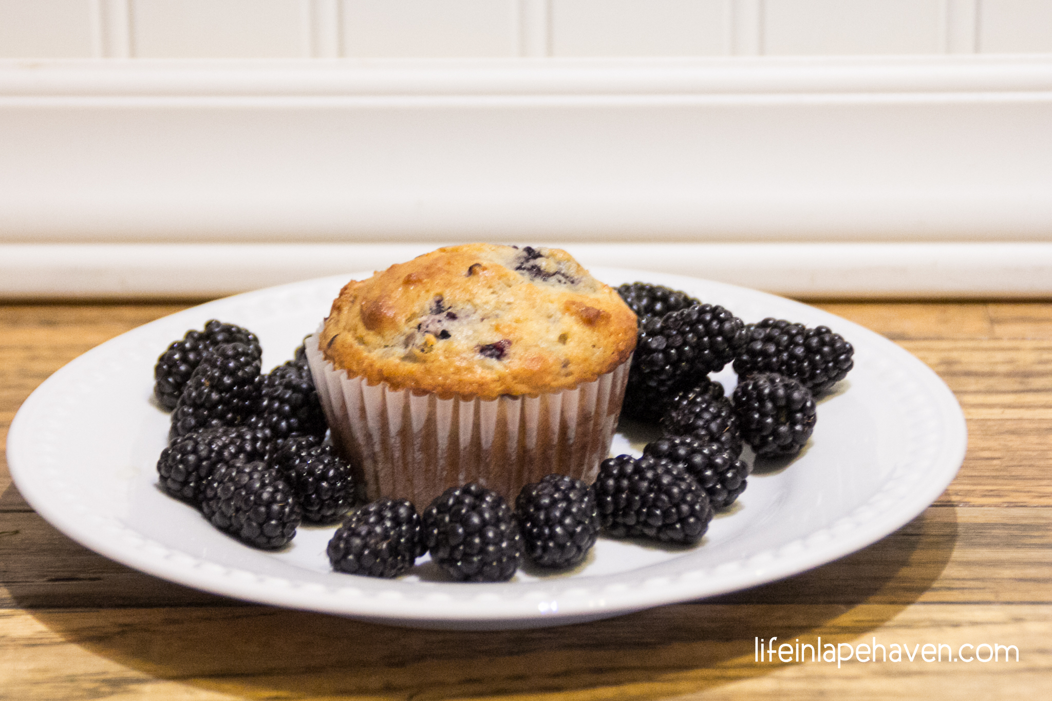 Homemade Blackberry Muffins