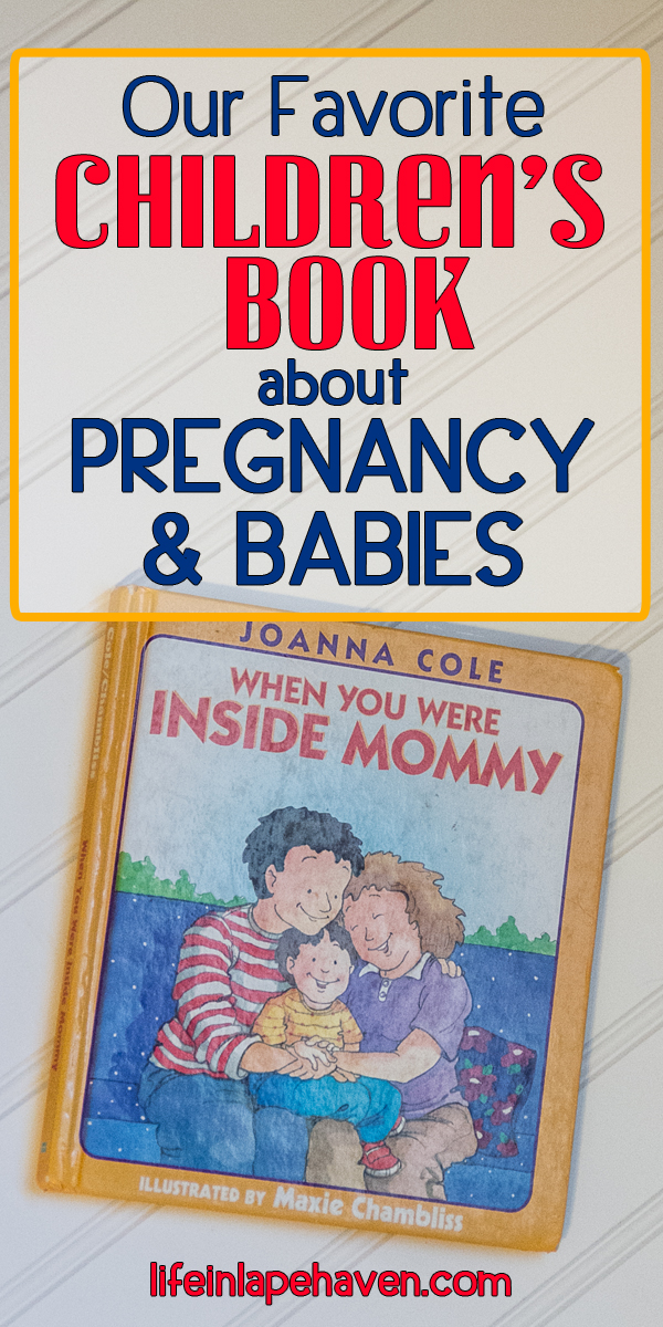 Life in Lape Haven: Our Favorite Children's Book about Pregnancy & Babies. We love this simple, easy to read story about where babies come from. Perfect for young children & preschoolers. Informative without giving too much information.