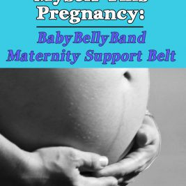Life in Lape Haven: The Best Thing I've Gotten for Myself This Pregnancy: BabyBellyBand Maternity Support Belt. After a month of wearing a BabyBellyBand maternity support belt, here's a review of my experience wearing it, how it has helped with varicose veins, swelling, and other pregnancy discomforts, and a coupon code for you.