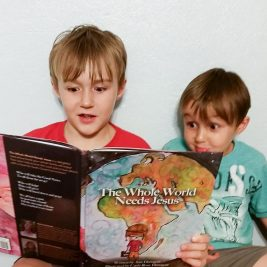A Fun Way to Teach Your Children About God's Great Commission: A Review of The Whole World Needs Jesus by Ann Dunagan. This delightful children's book is full of whimsical illustrations and a message encouraging kids to share Jesus's love with everyone.
