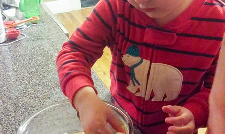 "7 Simple Dishes Your Child Can Make for Thanksgiving - Life in Lape Haven. Our kids like to be a part of everything we do, so it shouldn't have surprised me when my oldest really enjoyed making something ""on his own"" to take to our family Thanksgiving gathering. Here are 7 easy recipe ideas that your children can help make for your holiday meal or other celebration."
