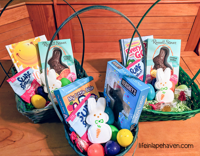 The Easter Basket Tradition That'll Point Your Children to Jesus - Life in Lape Haven. When I saw this mom's idea for presenting her kids' Easter basket in a way that shared the gospel and left an eternal impact, I knew we would had to start a new tradition that very year.
